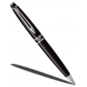 Stylo Bille WATERMAN expert Noir Mat CT