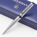 Stylo Bille WATERMAN Expert Chromé Satiné CT